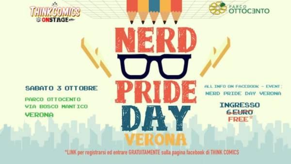 """Prima edizione del """"Nerd Pride Day – Verona"""""""