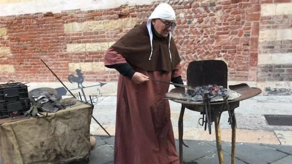 La Fiera delle antiche arti e mestieri torna in piazza dei signori