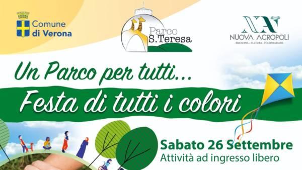Festa di tutti i colori al Parco Santa Teresa