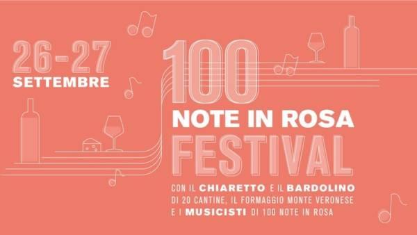100 Note in Rosa al Mura Festival