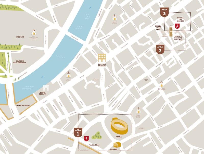 mappa percorso Hostaria