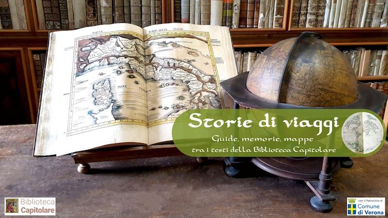 Storie di viaggi: Guide, memorie, mappe tra i testi della Biblioteca Capitolare