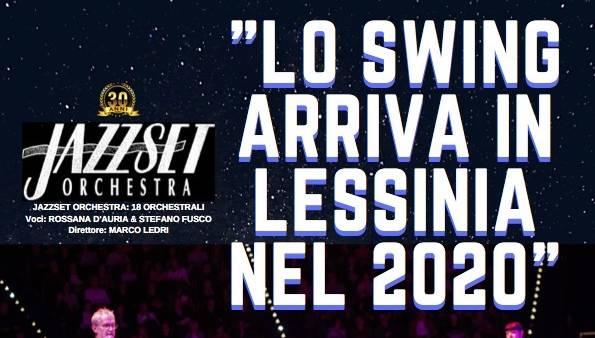 """Lo """"Swing arriva in Lessinia"""" con la Jazzset Orchestra in concerto a Roverè Veronese"""