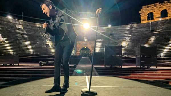 Diodato in concerto all'Arena di Verona