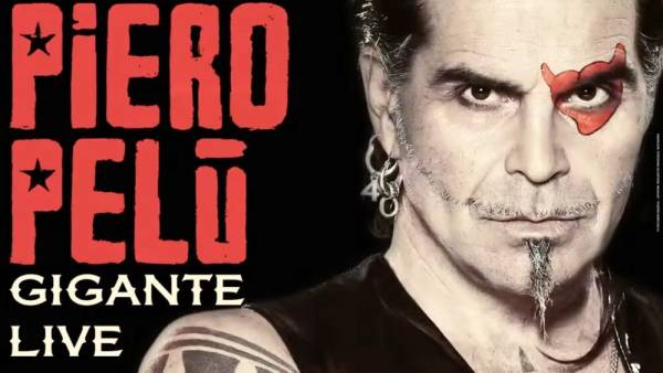 Pierò Pelù in doppio concerto al Teatro Romano
