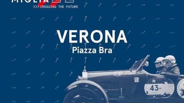 1000 Miglia in Bra a Verona