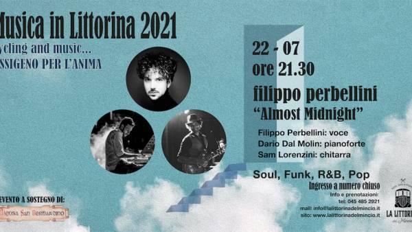 """Filippo Perbellini Trio """"Almost Midnight"""" a """"La Littorina del Mincio"""""""