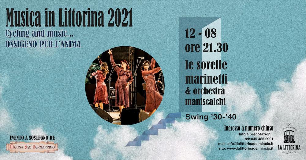 Le sorelle Marinetti Musica in Littorina