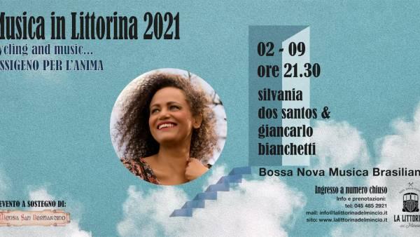 """Silvania Dos Santos & Giancarlo Bianchetti a """"La Littorina del Mincio"""""""