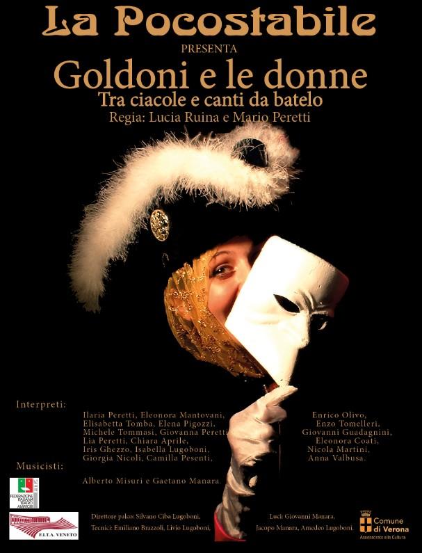 Goldoni e le donne – Tra ciacole e canti da batel Locandina