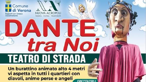 Dante tra Noi: 7 Spettacoli di teatro di strada nei quartieri di Verona