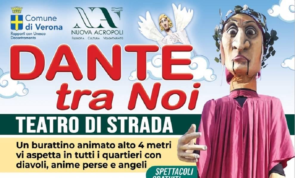 Locandina Dante tra noi