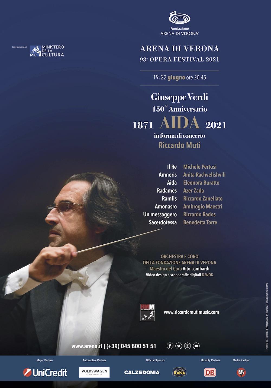 Il Manifesto 98° Arena di Verona Opera Festival 2021