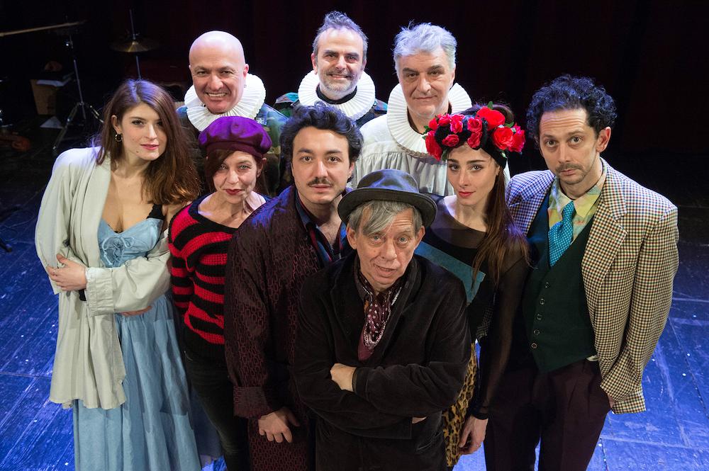 Paolo Rossi Amleto Teatro Romano
