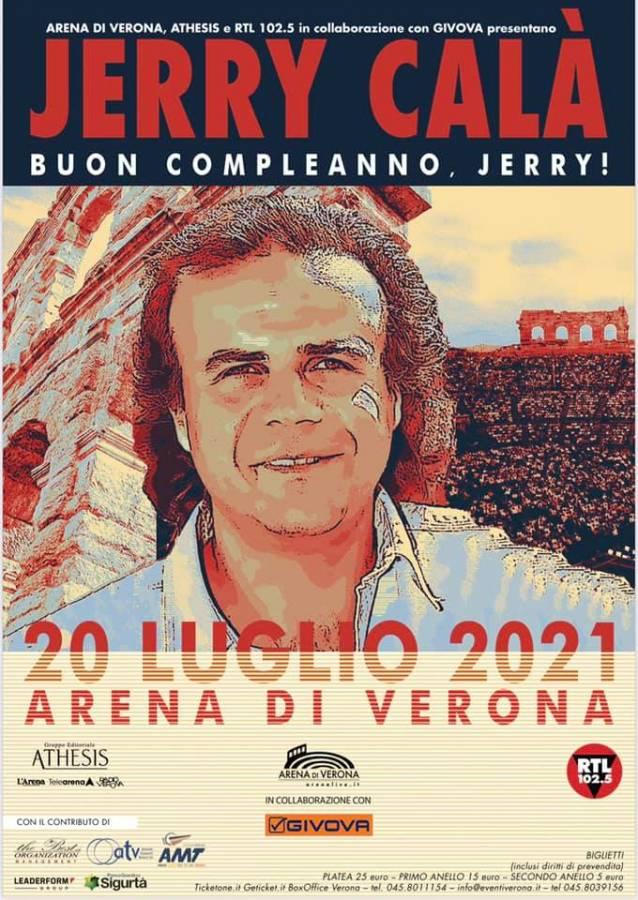 """La Locandina """"Buon compleanno Jerry"""""""