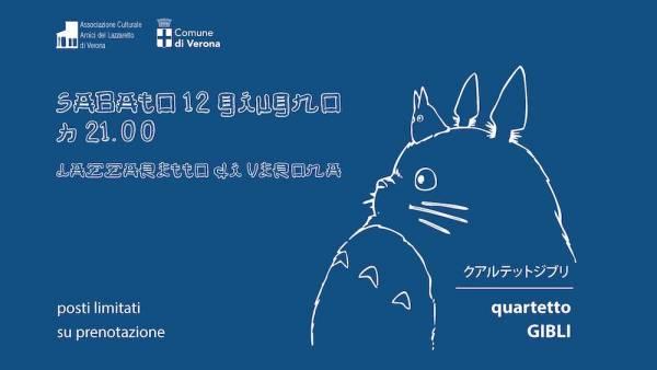 Quartetto Gibli in concerto al Lazzaretto di Verona
