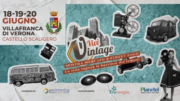 Vivi Vintage al Castello Scaligero di Villafranca
