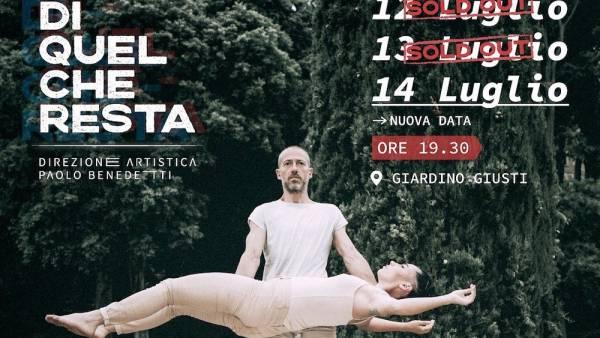"""Paolo Benedetti e Acro Physical Theatre presentano """"Di quel che resta"""" al Giardino Giusti"""