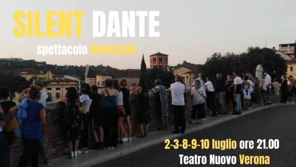 """""""Silent Dante""""… spettacolo itinerante sulle tracce di Dante"""