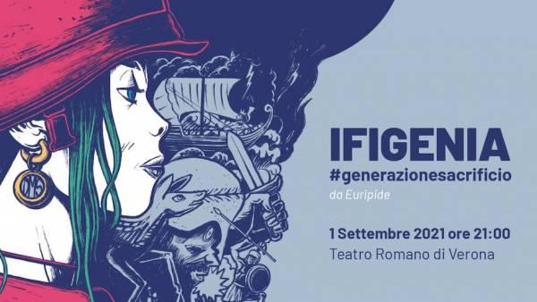 IFIGENIA #generazionesacrificio da Euripide al Teatro Romano