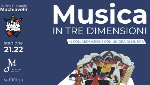 Nuova stagione musicale di Fucina Macchiavelli