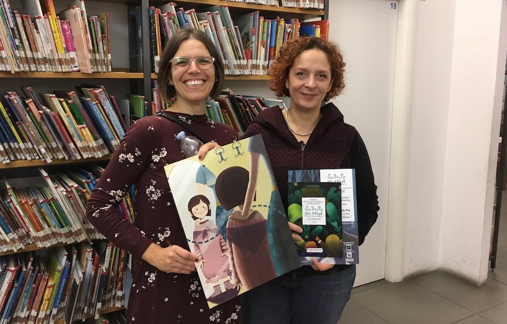 Valeria Angela Pisi e l'illustratrice Selene Campanella