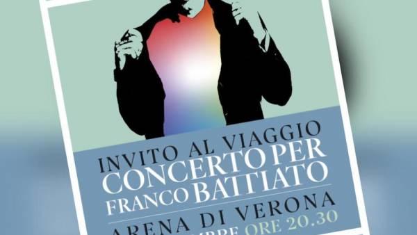L'Arena di Verona celebra Franco Battiato