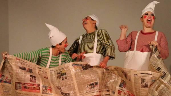 """Spettacolo di clownerie per bambini """"Buon Viaggio"""" al Teatro Stimate"""