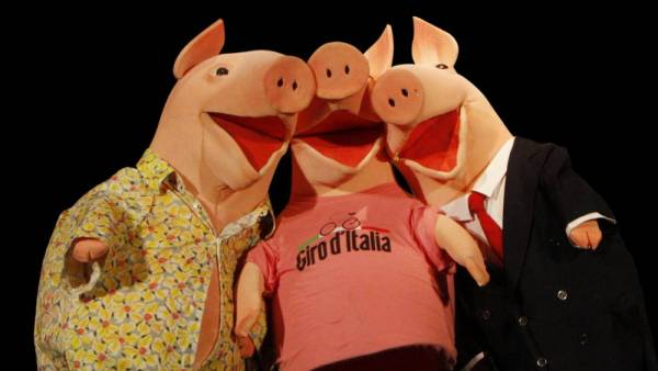 """I tre porcellini"" al Teatro Stimate"