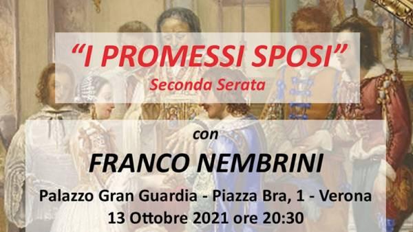 """""""I Promessi sposi"""" spiegati dal professore Franco Nembrini"""
