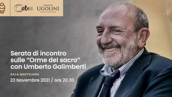 """Serata di incontro sulle """"Orme del sacro"""" con Umberto Galimberti"""