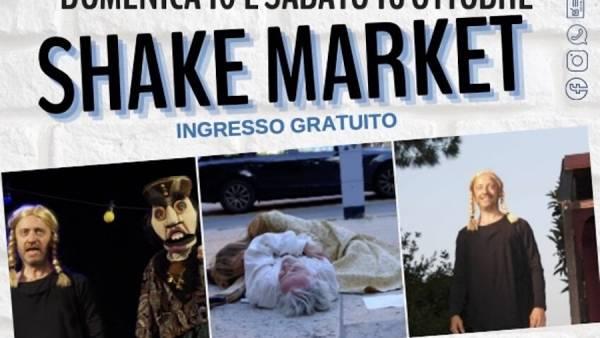 """Shakespeare tra la gente al Mercato coperto dei Filippini con l'iniziativa """"Shake Market"""""""